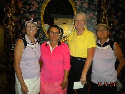 Ch. Div. 1st Net-Sandra Harper, Laura Parziale, Jane Jordan, & Bettyjean Shadeck