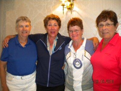 Ch. Div. 1st Gross-Ann Moran, Jackie Booth, Maureen Ford, & Chris Trenholme