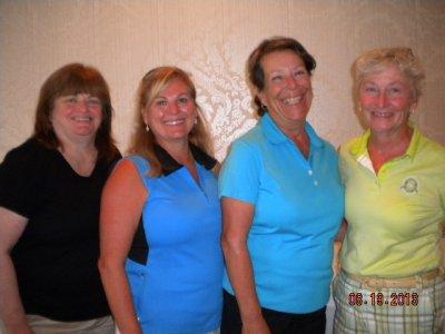 A Div. 1st Net-Maureen Mossey, Cindy Donald, Valerie Tessier, & Dr. Kristin Kennedy