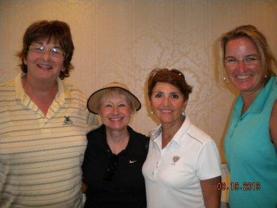 A Div. 1st Gross-Maureen Deloreto, Judy MacAuley, Cindy Sauer, & Lisa Clark