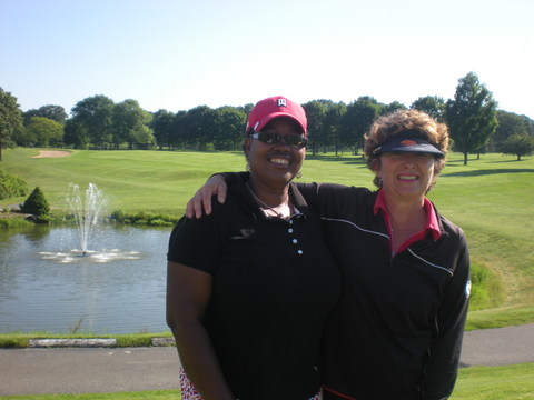 Championship Flight Winners-Kay Bullock & Jackie Booth