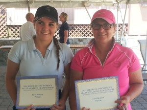 Winner Ashley Roggero Runner-up Laura Parziale